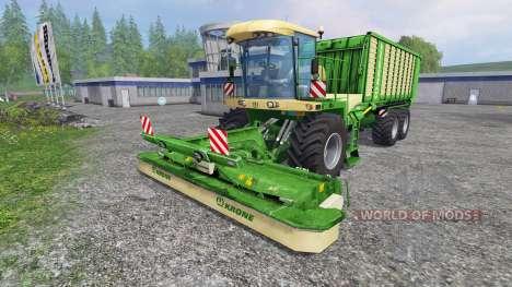 Krone BIG L500 для Farming Simulator 2015