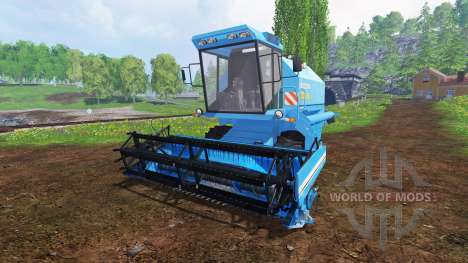 Bizon Z058 для Farming Simulator 2015