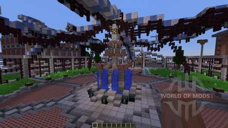 Shady Hollow Minecraft Survival Games Map для Minecraft