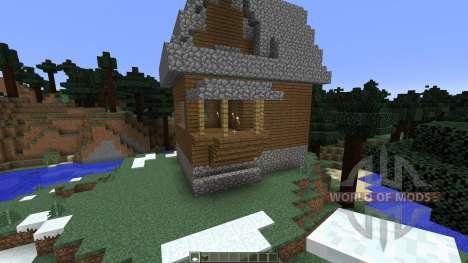 Frozen Haven для Minecraft