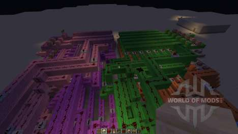 12 hour digital clock для Minecraft