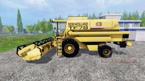 New Holland TF78 для Farming Simulator 2015