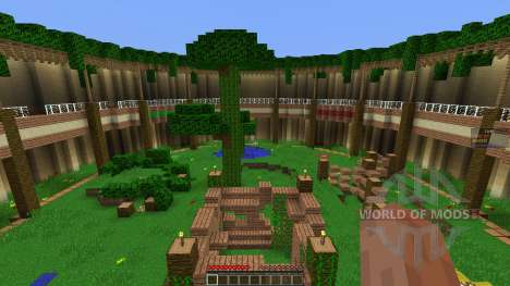 Arena Map w Classes для Minecraft