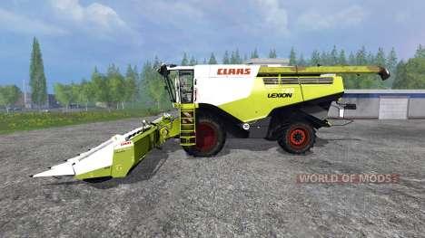CLAAS Lexion 780 [wheels washable] для Farming Simulator 2015