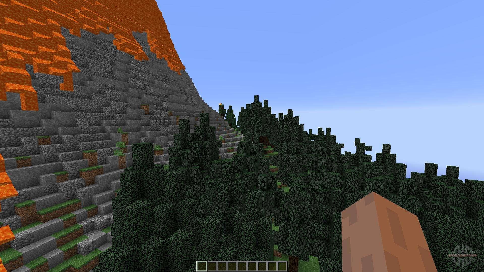 скачать карты для майнкрафт для сервера вулкан