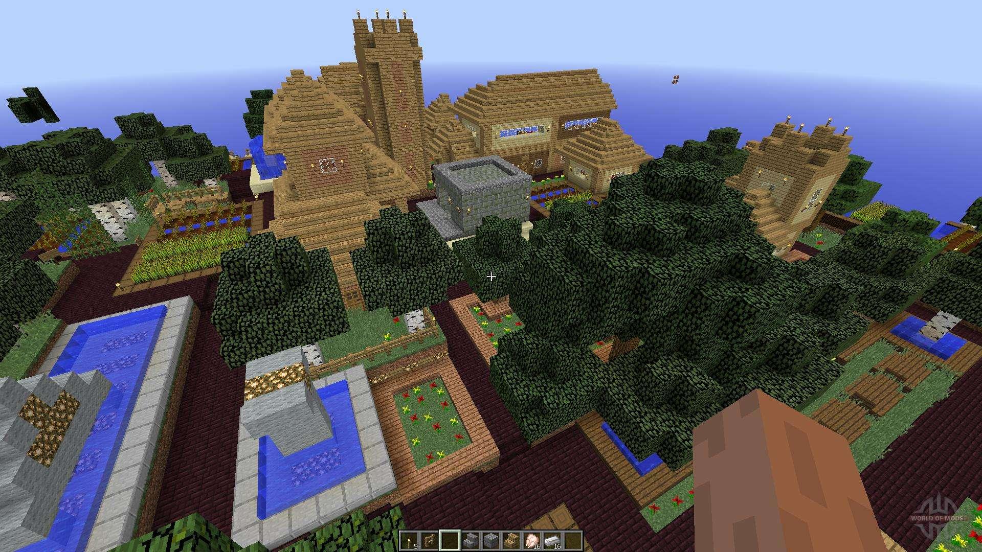 Карты для майнкрафт с деревнями