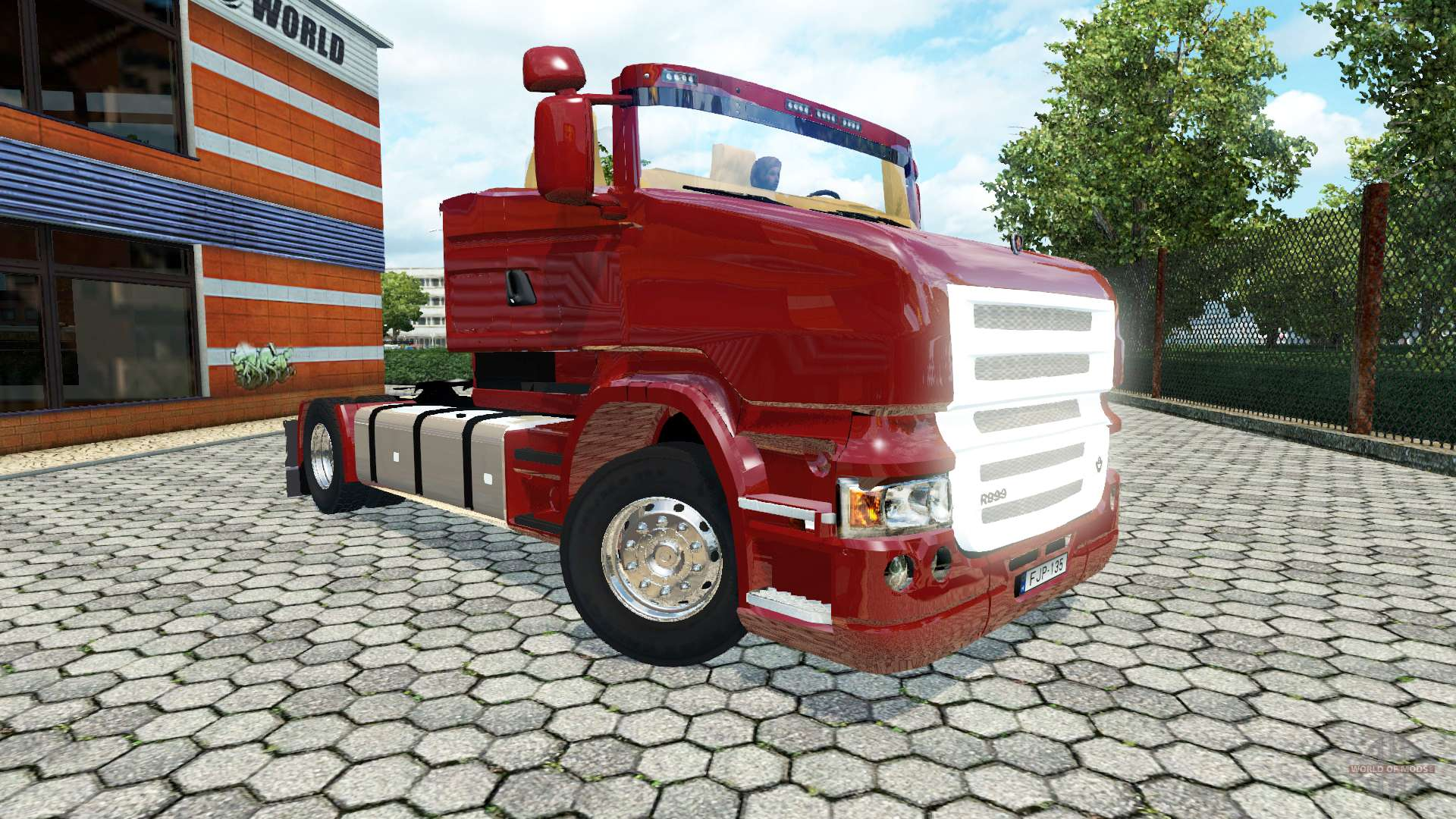 Обои Scania, r999. Автомобили foto 10