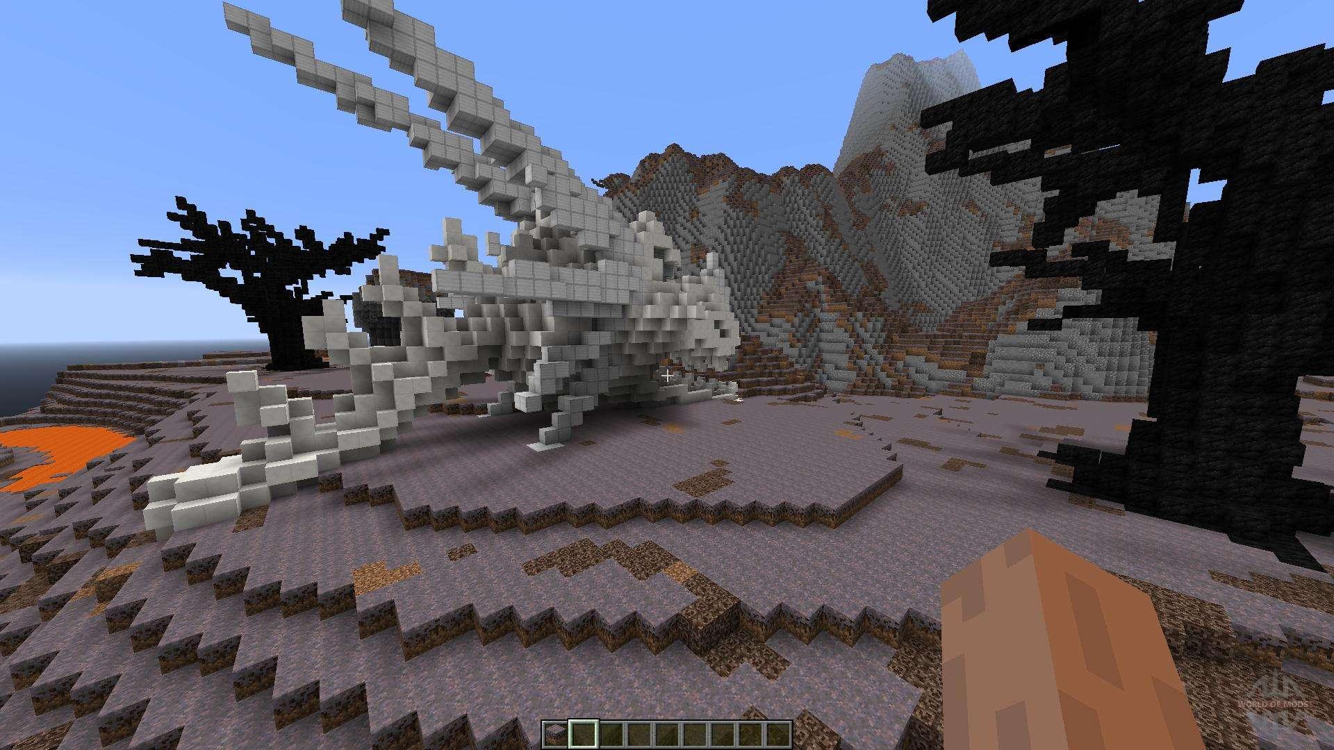 карты майнкрафт с драконом #9