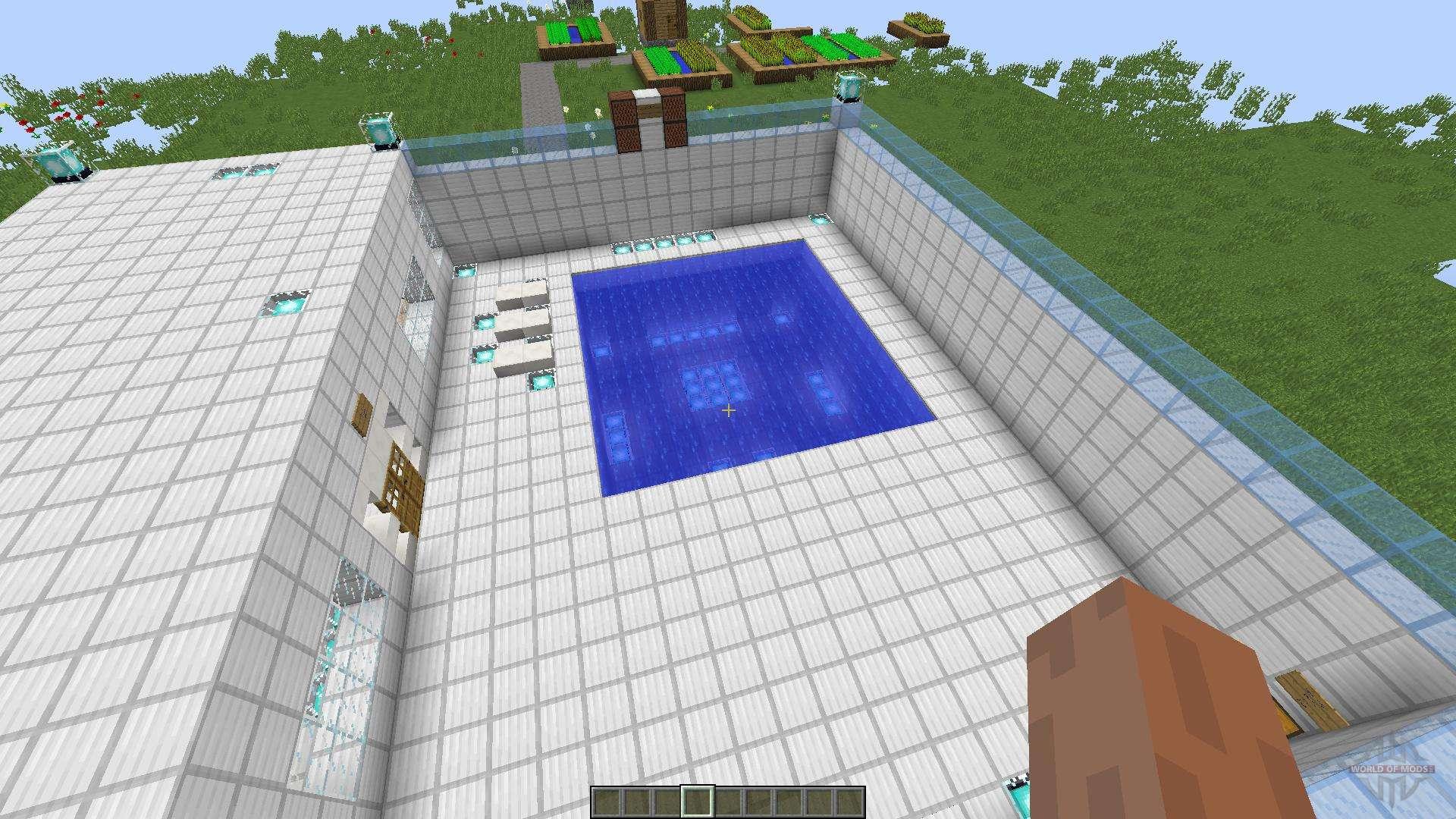 разделе картинки как построить бассейн в майнкрафте предлагаем как классическое