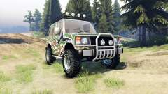 Mitsubishi Pajero I для Spin Tires