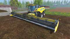 New Holland CR10.90 [front twin wheels]