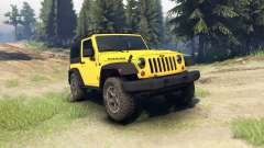 Jeep Wrangler Rubicon для Spin Tires