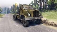 КрАЗ-258 для Spin Tires