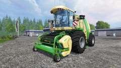Krone Big X 1100 v1.1 для Farming Simulator 2015