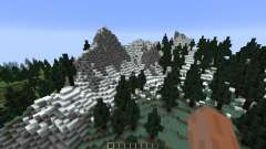 Pine Valley Minecraft Custom Terrain