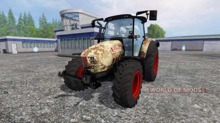 Hurlimann XM 4Ti camouflage для Farming Simulator 2015