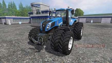 New Holland T8.435 v3.5 для Farming Simulator 2015