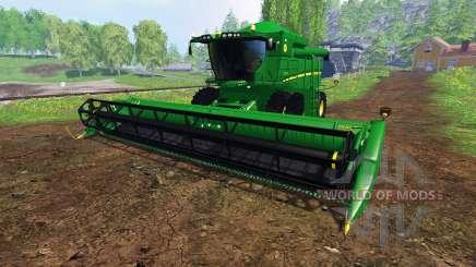 John Deere S550 для Farming Simulator 2015