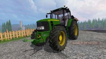 John Deere 6830 Premium FL v3.5 для Farming Simulator 2015