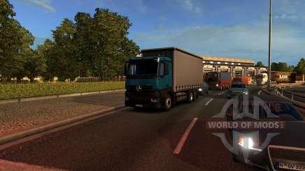 Mersedes-Benz Antos 12 для Euro Truck Simulator 2