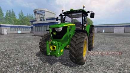 John Deere 6170R v2.2 для Farming Simulator 2015