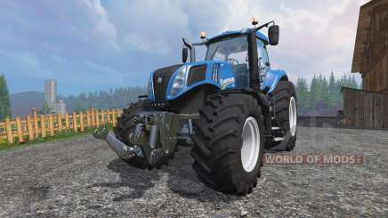 New Holland T8.320 [edit] для Farming Simulator 2015