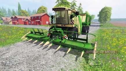 Krone Big X 650 Cargo v4.3 для Farming Simulator 2015