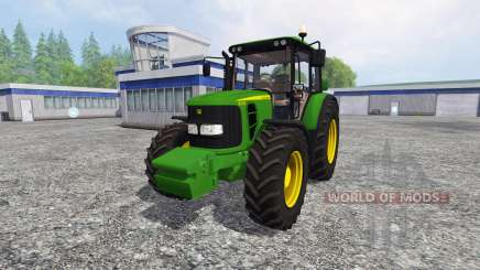 John Deere 6330 Premium FL для Farming Simulator 2015
