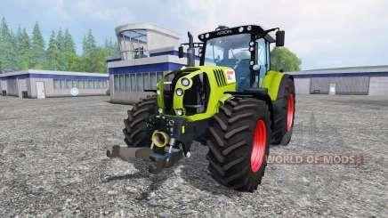 CLAAS Arion 650 v2.5 для Farming Simulator 2015