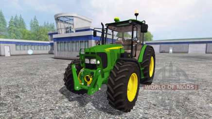 John Deere 5080M FL для Farming Simulator 2015