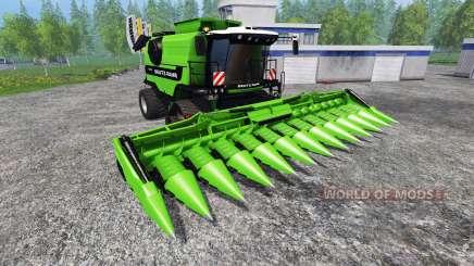 Deutz-Fahr 7545 RTS [green beast] для Farming Simulator 2015