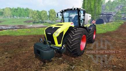 CLAAS Xerion 4500 v1.5 для Farming Simulator 2015