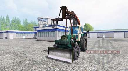 ЮМЗ-6Л [грейфер] для Farming Simulator 2015