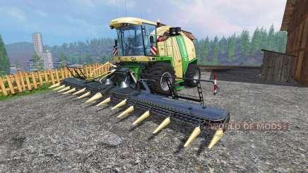 Krone Big X 1100 [tank 300000 liters] [crusher] для Farming Simulator 2015