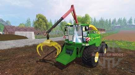 John Deere 7950 [crusher] v2.0 для Farming Simulator 2015