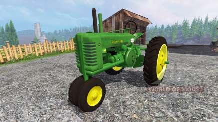 John Deere Model A для Farming Simulator 2015