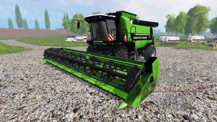 Deutz-Fahr 7545 RTS v1.2.1 для Farming Simulator 2015