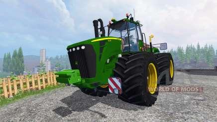 John Deere 9630 terra tires для Farming Simulator 2015