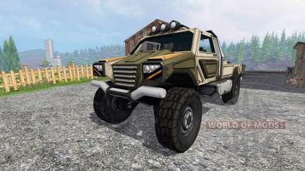 Gekko Utility Vehicle для Farming Simulator 2015