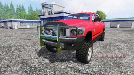 Dodge Ram 2500 Heavy Duty для Farming Simulator 2015