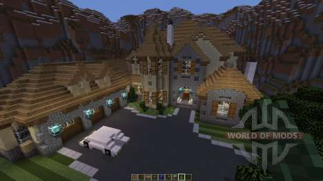European Mountain Mansion для Minecraft