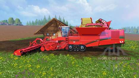 Grimme Tectron 415 v1.4 для Farming Simulator 2015