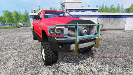 Dodge Ram 2500 Heavy Duty v1.1 для Farming Simulator 2015
