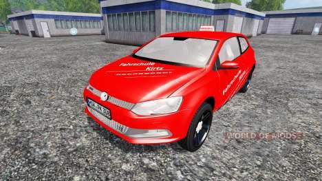 Volkswagen Polo GTI для Farming Simulator 2015