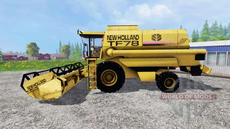 New Holland TF78 v1.15 для Farming Simulator 2015
