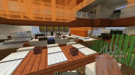 Modern Tony Stark Based Cliff-side Mansion для Minecraft