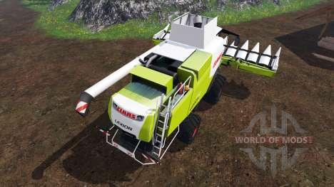 CLAAS Lexion 750 v1.4 для Farming Simulator 2015