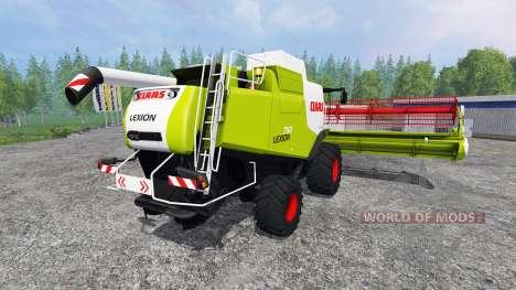 CLAAS Lexion 750 для Farming Simulator 2015