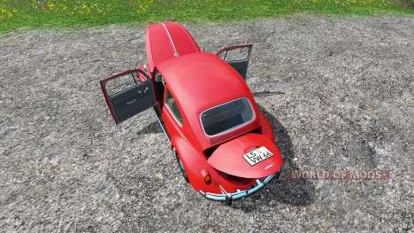 Volkswagen Beetle 1966 для Farming Simulator 2015