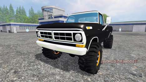 Ford F-250 Highboy 1972 для Farming Simulator 2015